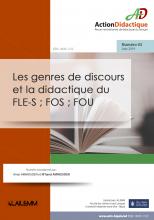 Les genres de discours et la didactique du FLE-S ; FOS ; FOU : dossier