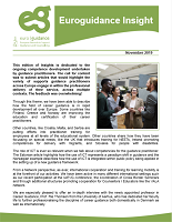 Euroguidance Insight: European network to support guidance and counselling