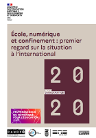 École, numérique et confinement : premier regard sur la situation à l'international