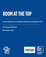 Room at the top : access and success at leading universities around the world