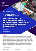 Formación profesional en la respuesta a la crisis y en las estrategias de recuperación y transformación productiva post COVID-19