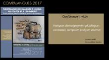 Pratiques d'enseignement plurilingue : contraster, comparer, intégrer, alterner