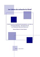 n° 121 - avril 2020 - L'évolution de la profession enseignante vue par les acteurs syndicaux : une étude de cas en Fédération Wallonie-Bruxelles
