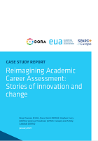 Reimagining academic career assessment: stories of innovation and change