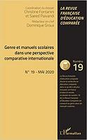 n° 19 - mai 2020 - Genre et manuels scolaires dans une perspective comparative internationale