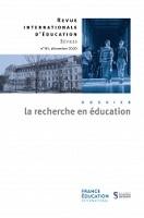 Recherches et acteurs de l'éducation en France : des collaborations localisées sans institutionnalisation forte