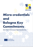 Micro-credentials and Bologna key commitments: state of play in the European higher education area