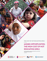The cost of not educating girls missed opportunities: the high cost of not educating girls
