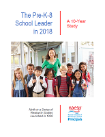 The pre-k-8 school leader in 2018: a 10-year study