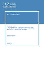 The PISA shock, socioeconomic inequality, and school reforms in Germany