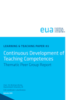 Continuous development of teaching competences: thematic peer group report