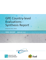 GPE Country-level evaluations - synthesis report