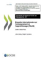 Enquête internationale sur l'enseignement et l'apprentissage (TALIS): cadre conceptuel
