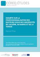 Enquête sur la professionnalisation des docteurs issus des universités de l'Algérie, du Maroc et de la Tunisie : rapport final