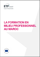 La formation en milieu professionnel au Maroc