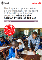 The impact of privatisation on the fulfilment of the right to education in 7 African countries: what do the Abidjan principles tell us?