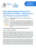 n° 56 - septembre 2019 - New methodology shows that 258 million children, adolescents and youth are out of school