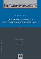 Quelle reconnaissance des compétences transversales ? Dossier