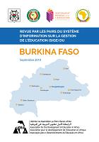 Revue par les pairs du système d'information sur la gestion de l'éducation (SIGE) du Burkina Faso