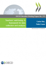 Teachers' well-being: a framework for data collection and analysis
