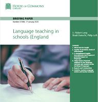Language teaching in schools in England