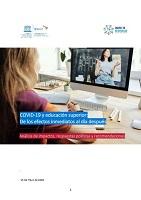 COVID-19 y educación superior: de los efectos inmediatos al día después. Análisis de impactos, respuestas políticas y recomendaciones