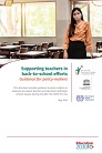 Supporting teachers in back-to-school efforts : guidance for policy-makers
