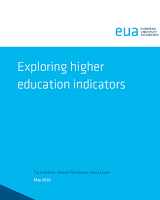 Exploring higher education indicators