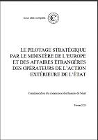 Le pilotage stratégique par le MEAE des opérateurs de l'action extérieure de l'État