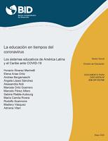 La educación en tiempos del coronavirus: Los sistemas educativos de América Latina y el Caribe ante COVID-19