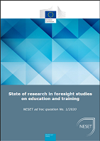 State of research in foresight studies on education and training
