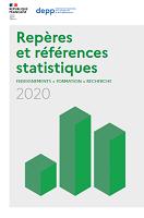 Repères et références statistiques 2020 : enseignements, formation, recherche