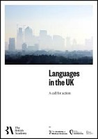 Languages in the UK: a call for action