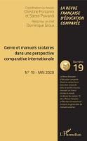 Genre et manuels scolaires dans une perspective comparative internationale