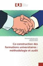 Co-construction des formations universitaires : méthodologie et audit