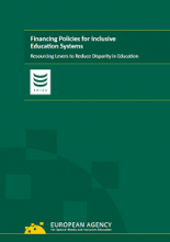 Financing policies for inclusive education systems:resourcing levers to reduce disparity in education