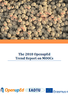 The 2018 OpenupEd trend report on MOOCs