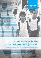 Un départ dans la vie marqué par les injustices : inégalités scolaires chez les enfants dans les pays riches : bilan innocenti 15