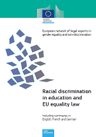 Racial discrimination in education and EU equality law