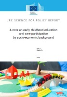 A note on early childhood education and care participation by socio-economic background