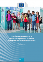Study on governance and management policies in school education systems. Final report