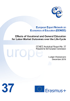 Effects of vocational and general education for labor-market outcomes over the life-cycle