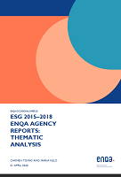 ESG 2015–2018 ENQA Agency reports : thematic analysis