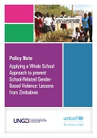 Applying a whole school approach to prevent school-related gender-based violence: lessons from Zimbabwe