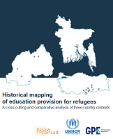 Historical mapping of education provision for refugees: A cross-cutting and comparative analysis of three country contexts