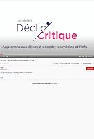 Ateliers Déclic'Critique - chaîne YouTube