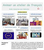 Animer un atelier de français : guide ressources pour bénévoles