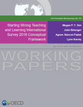 Starting strong teaching and learning international survey 2018 conceptual framework