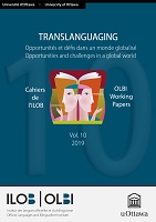 vol. 10 - 2020 - Translanguaging: opportunités et défis dans un monde globalisé = opportunities and challenges in a global world