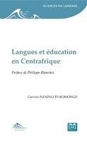 Langues et éducation en Centrafrique